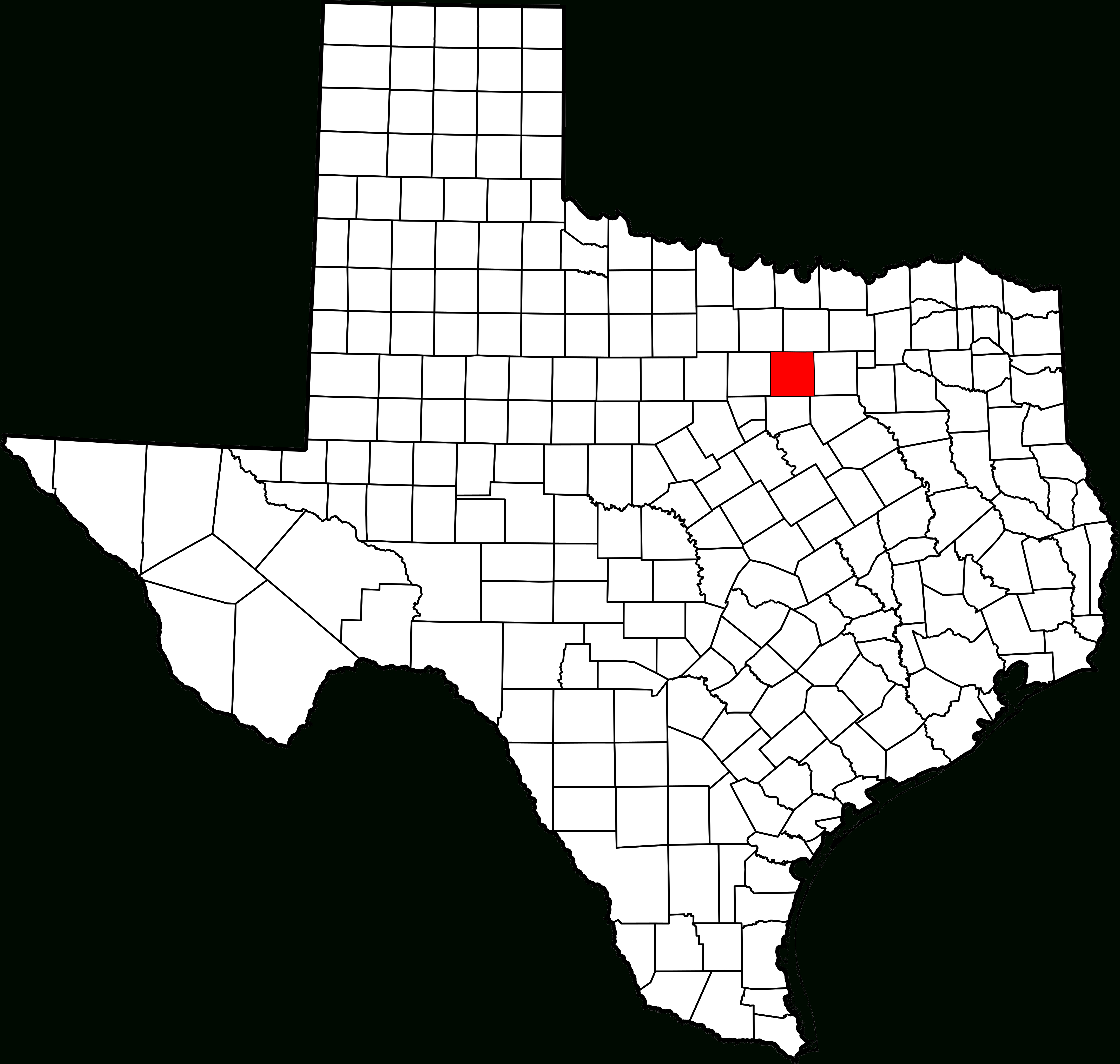 File:map Of Texas Highlighting Tarrant County.svg - Wikipedia - Where Is Southlake Texas On A Map Of Texas