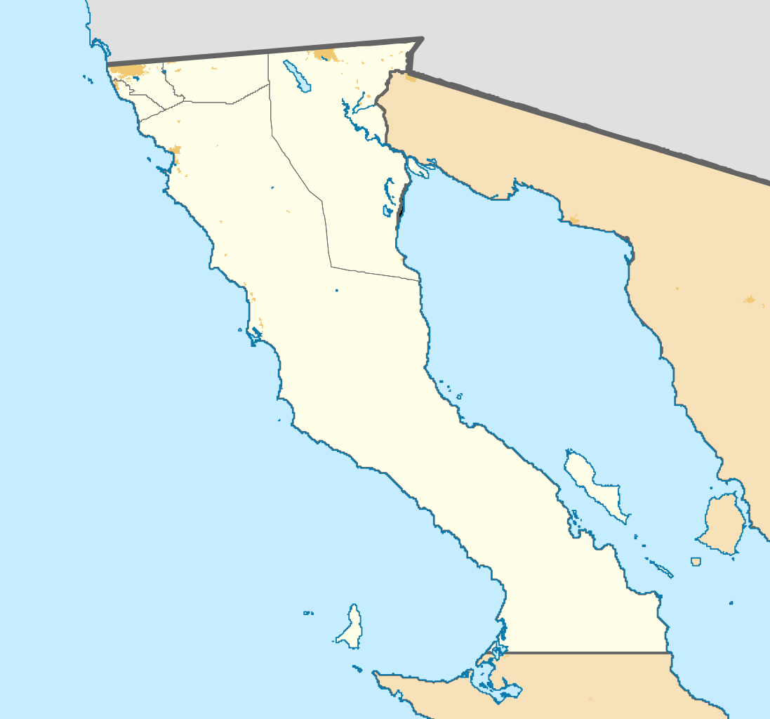 File:mexico Baja California Location Map (Urban Areas).svg - Wikipedia - Baja California Norte Map