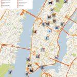 File:new York Manhattan Printable Tourist Attractions Map   Printable Map Of New York City