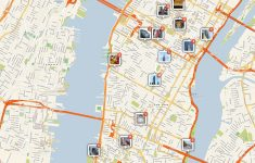 File:new York Manhattan Printable Tourist Attractions Map – Printable New York Street Map
