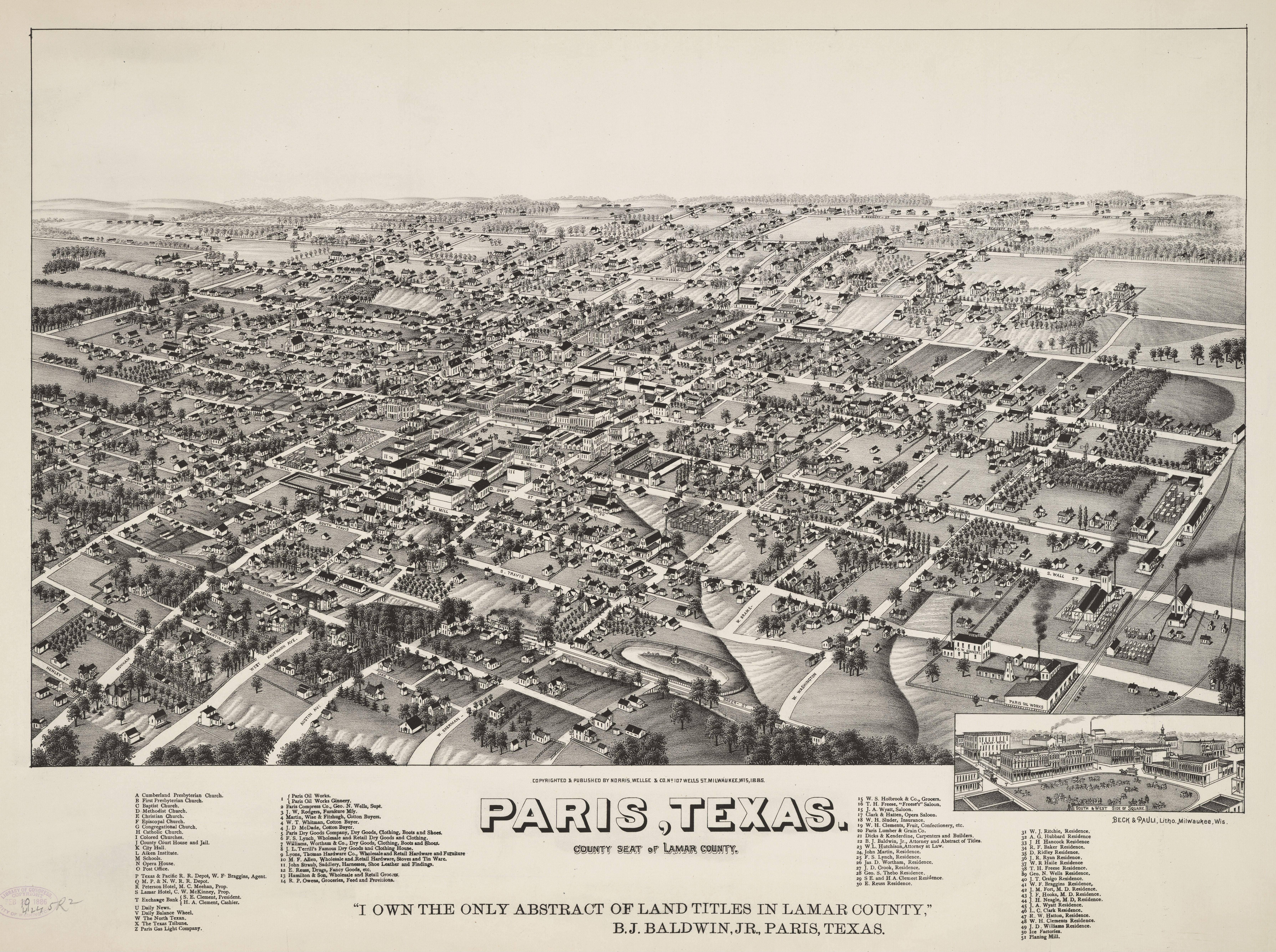 File:old Map-Paris-1885 - Wikimedia Commons - Paris Texas Map