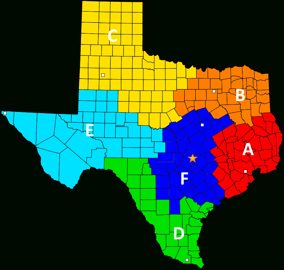 File:texas Ranger Division Companies Map - Wikimedia Commons - Texas Rangers Map