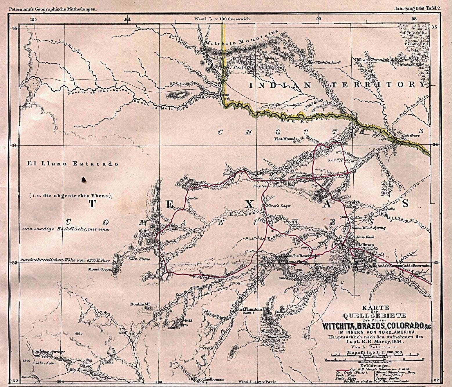 File:texas Rivers 1895 - Wikimedia Commons - Texas Creeks And Rivers Map