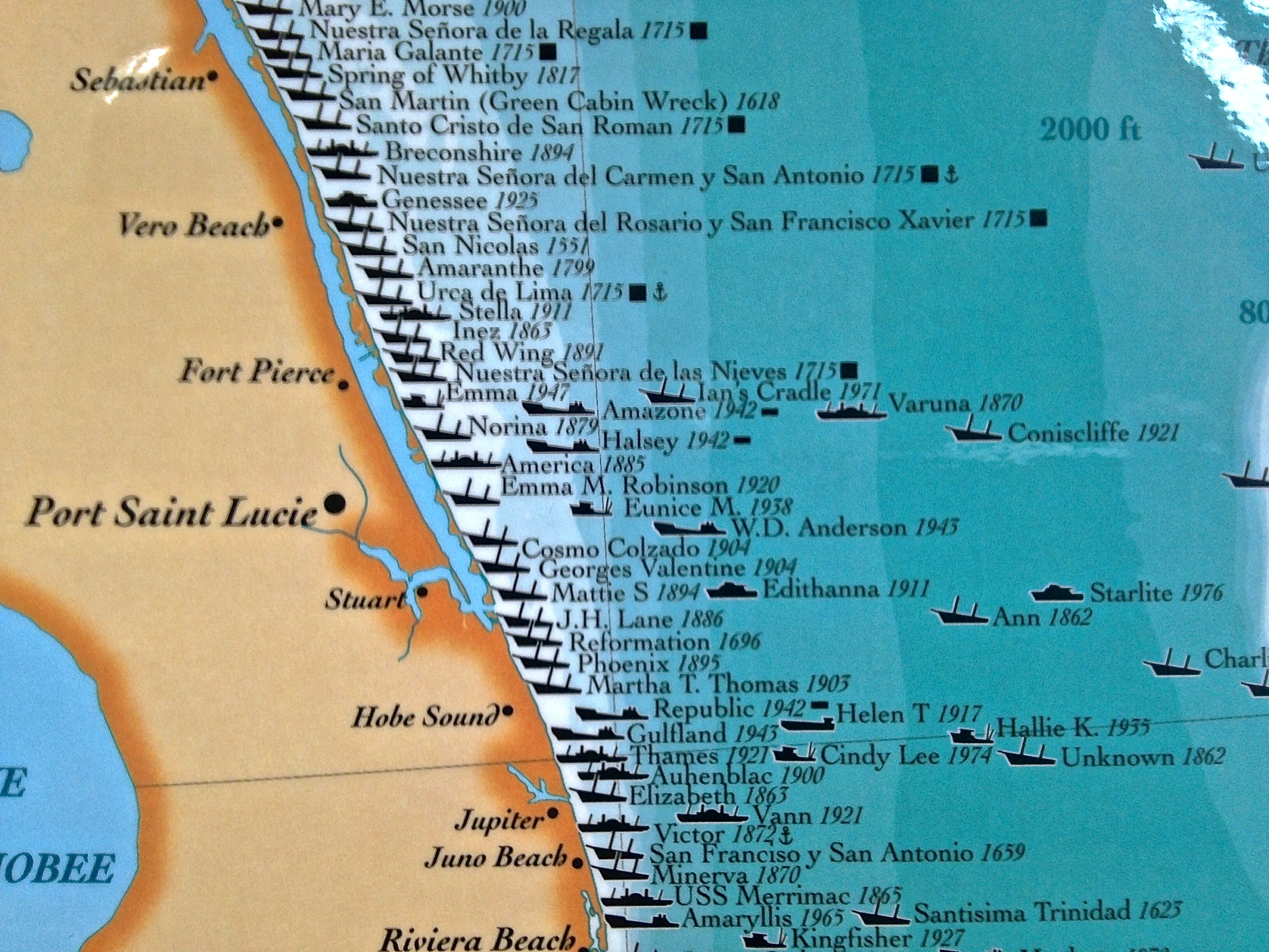 "Finally Embracing Being Florida's ""Treasure Coast!"" Slr/irl - Map Of Florida Showing Hobe Sound"
