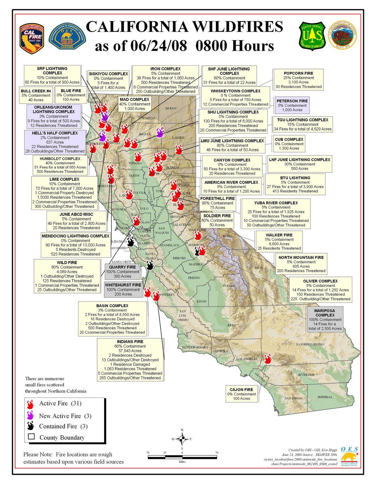 Firesam California River Map Fires In California Right Now Map - California Fire Map Right Now