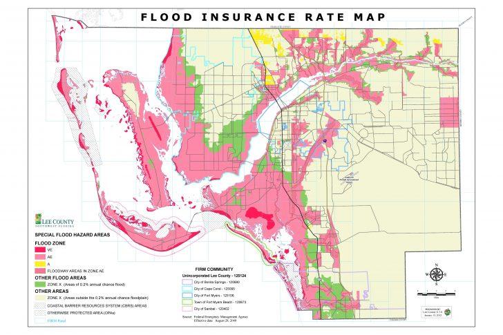 Florida Flood Plain Map
