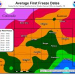 First Freeze Map   Where Is Amarillo On The Texas Map