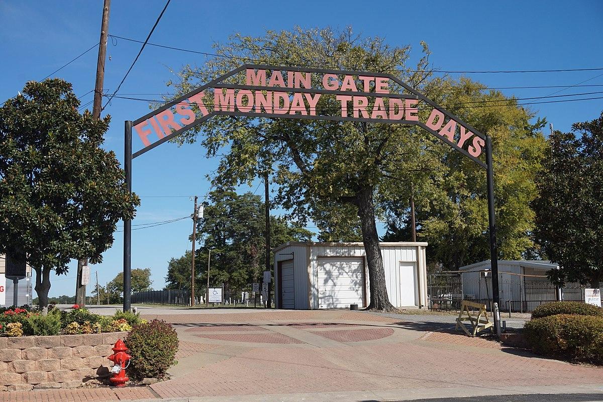 First Monday Trade Days - Wikipedia - Canton Texas Map Trade Days