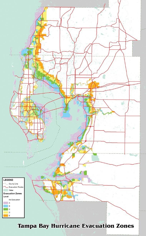 Fl County Hillsborough Flood Zone Map - Flood Zone Map Hillsborough County Florida