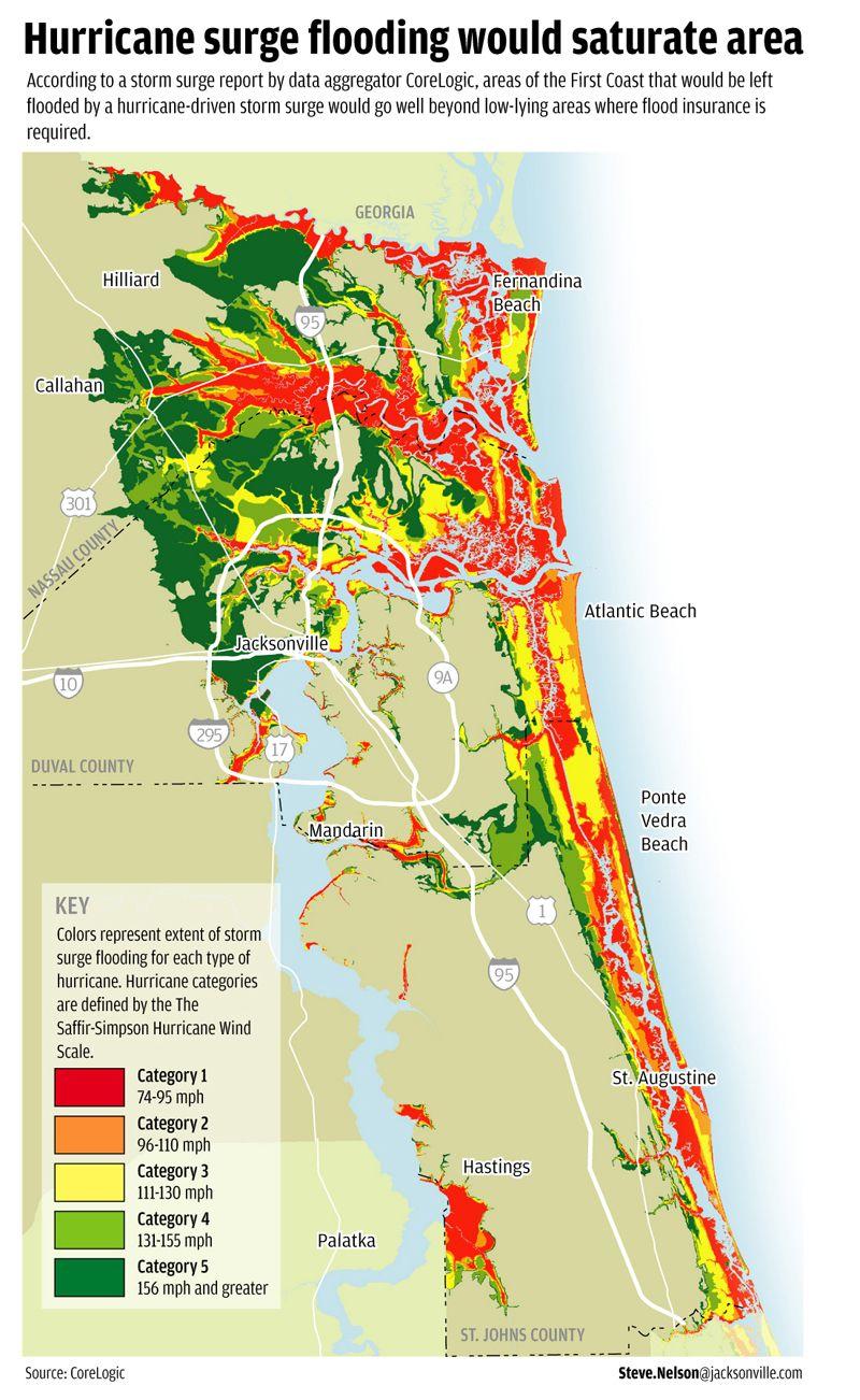 Flood Areas North East Fl. | Florida Living | Pinterest | Flood - Flood Zone Map Osceola County Florida