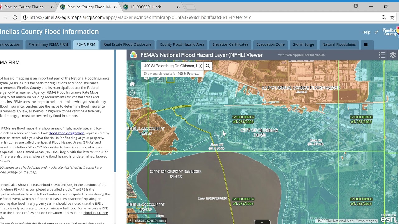 Flood Insurance Rate Map (Firm) Tutorial - Youtube - California Flood Insurance Rate Map