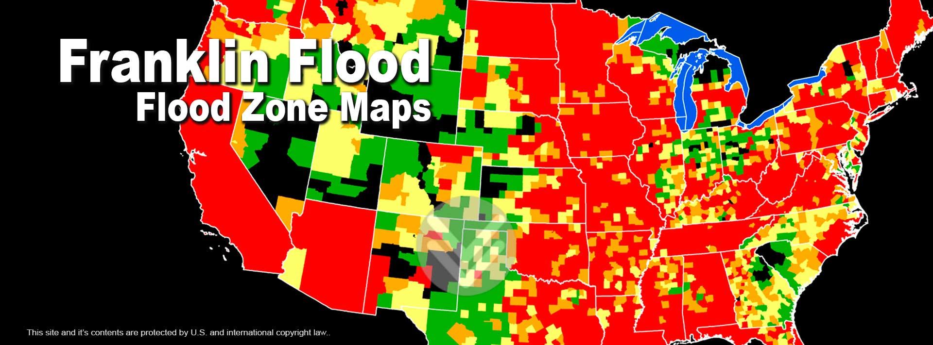 Flood Zone Rate Maps Explained - 100 Year Flood Map Florida