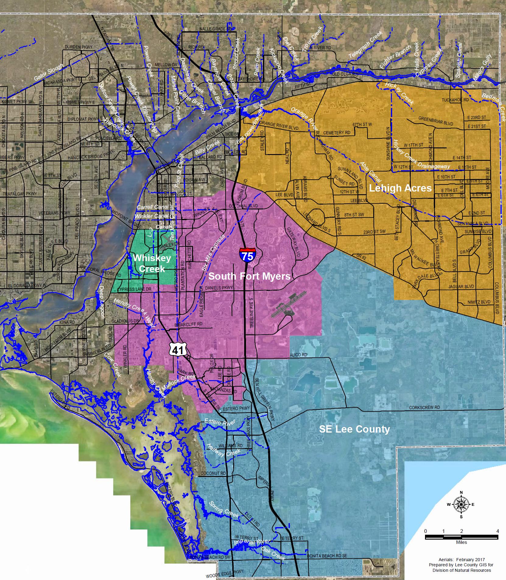 Flooding Information - South Florida Flood Map