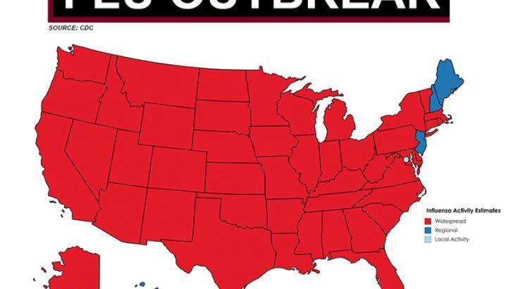 Flu Map Florida