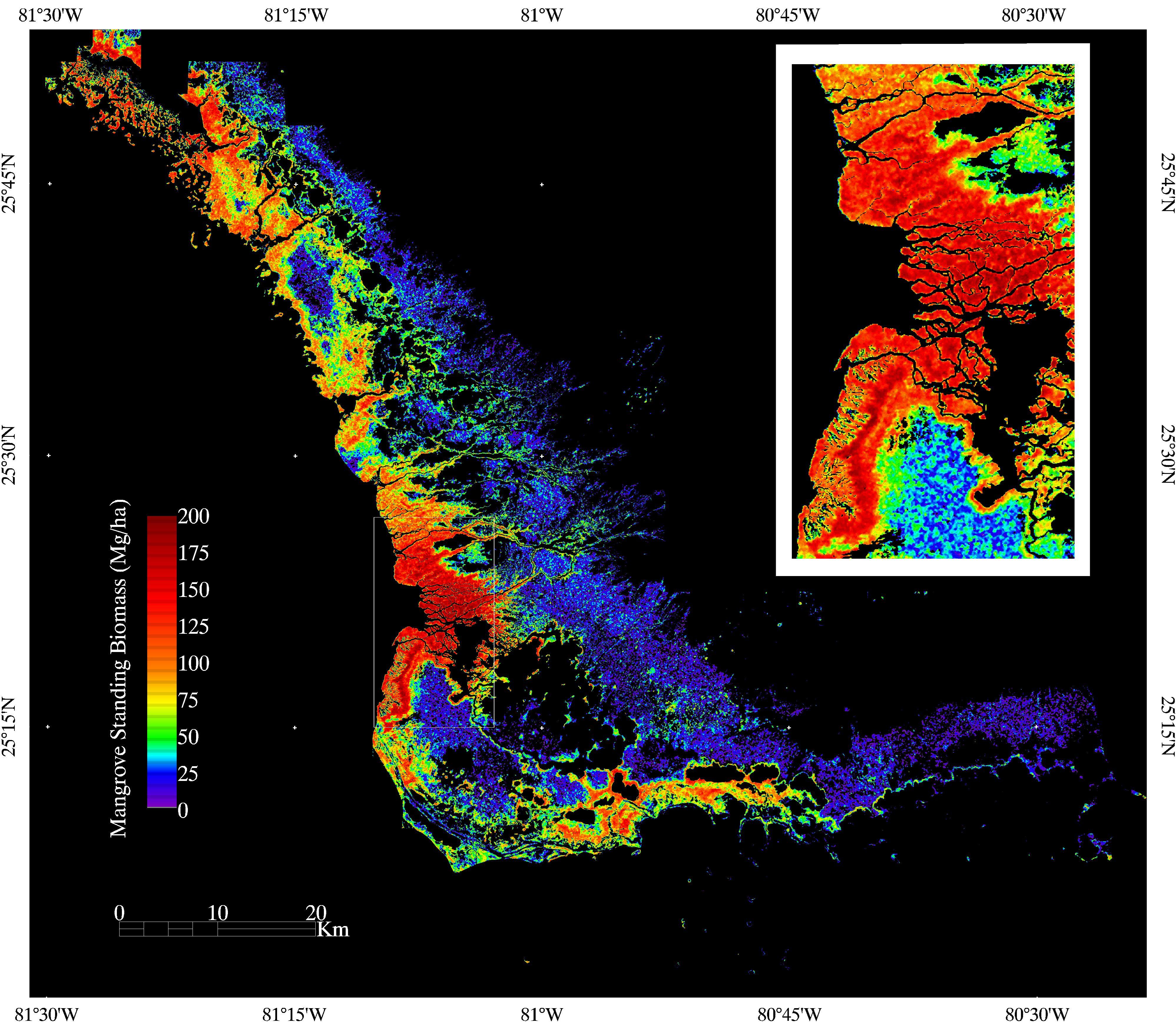 Florida Coastal Everglades Lter - Gis Data And Maps - Interactive Elevation Map Of Florida