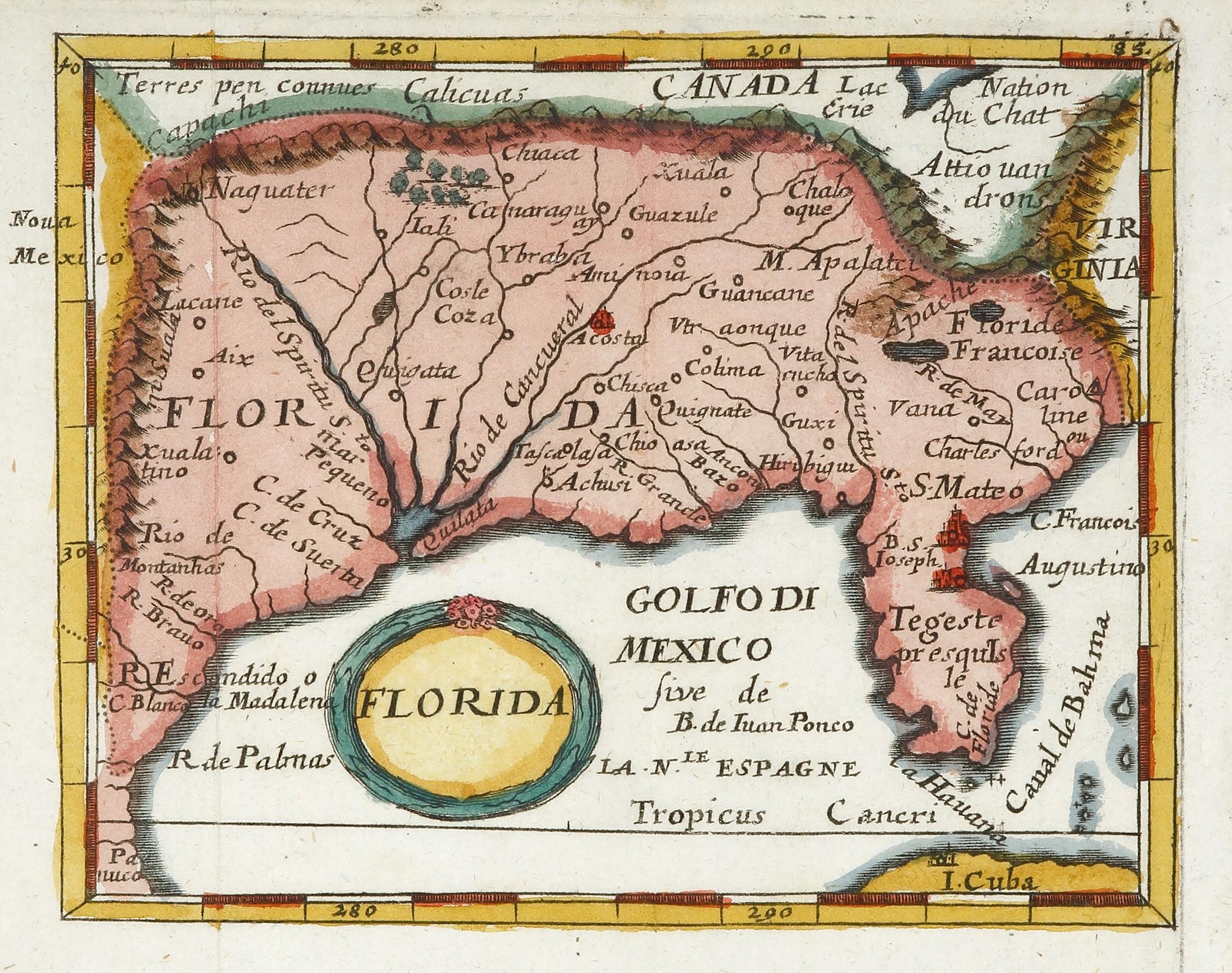Florida - Early Florida Maps