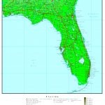 Florida Elevation Map   Florida Elevation Map