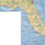 Florida Elevation Map   Florida Topographic Map Free