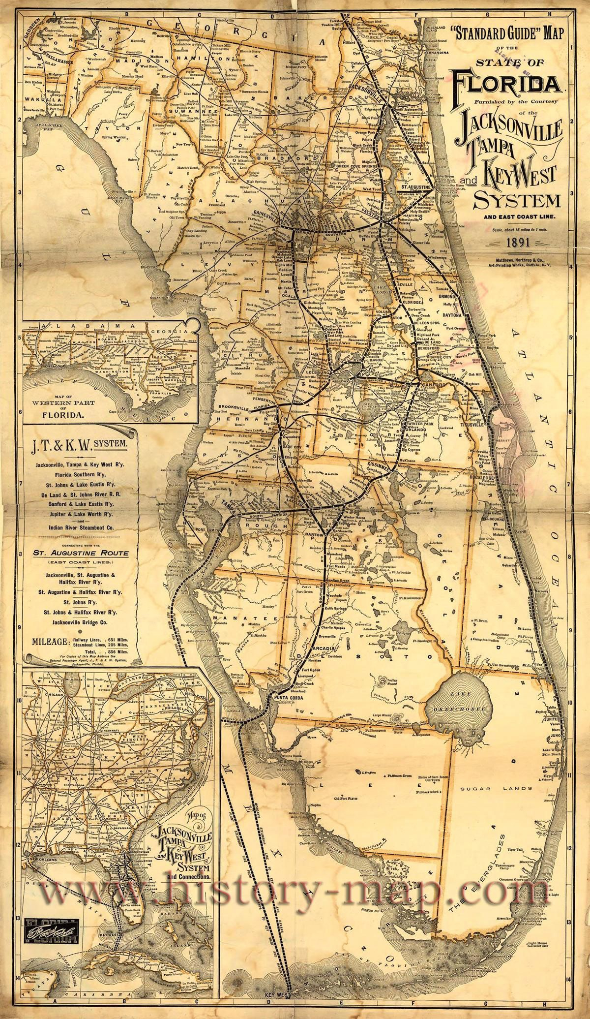 Florida | Florida In 2019 | Pinterest | Vintage Florida, Old Florida - Vintage Florida Maps For Sale