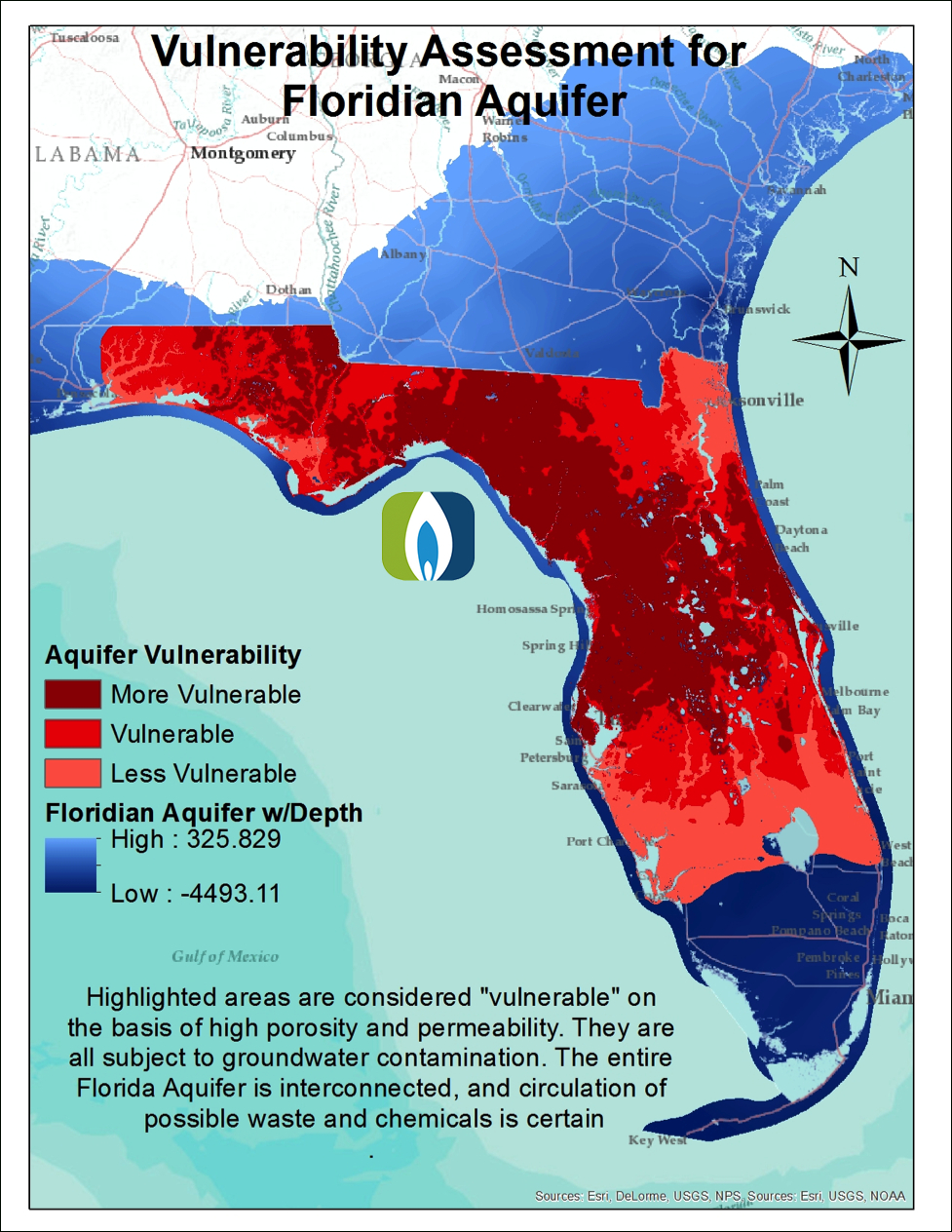 Florida Gas Drilling Developments And Legislation - Fractracker Alliance - Gas Availability Map Florida