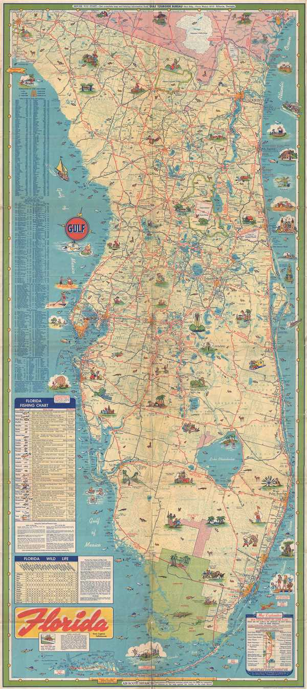 Florida.: Geographicus Rare Antique Maps - Florida Maps For Sale