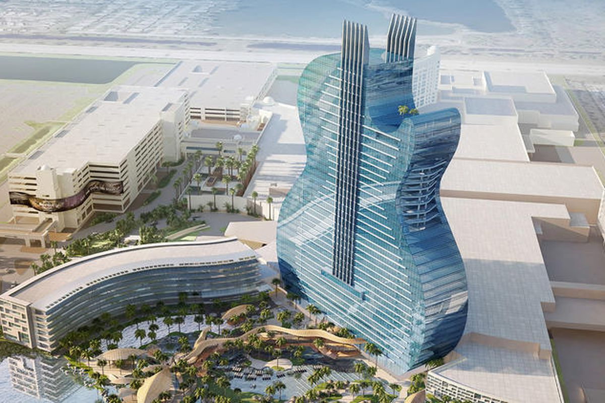Florida Hard Rock Hotel Will Be Shaped Like A Real Guitar - Curbed - Map Of Seminole Casinos In Florida