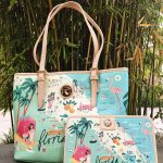 Florida Has Never Looked So Cute! The Tropical State Of Florida Has   Florida Map Purse