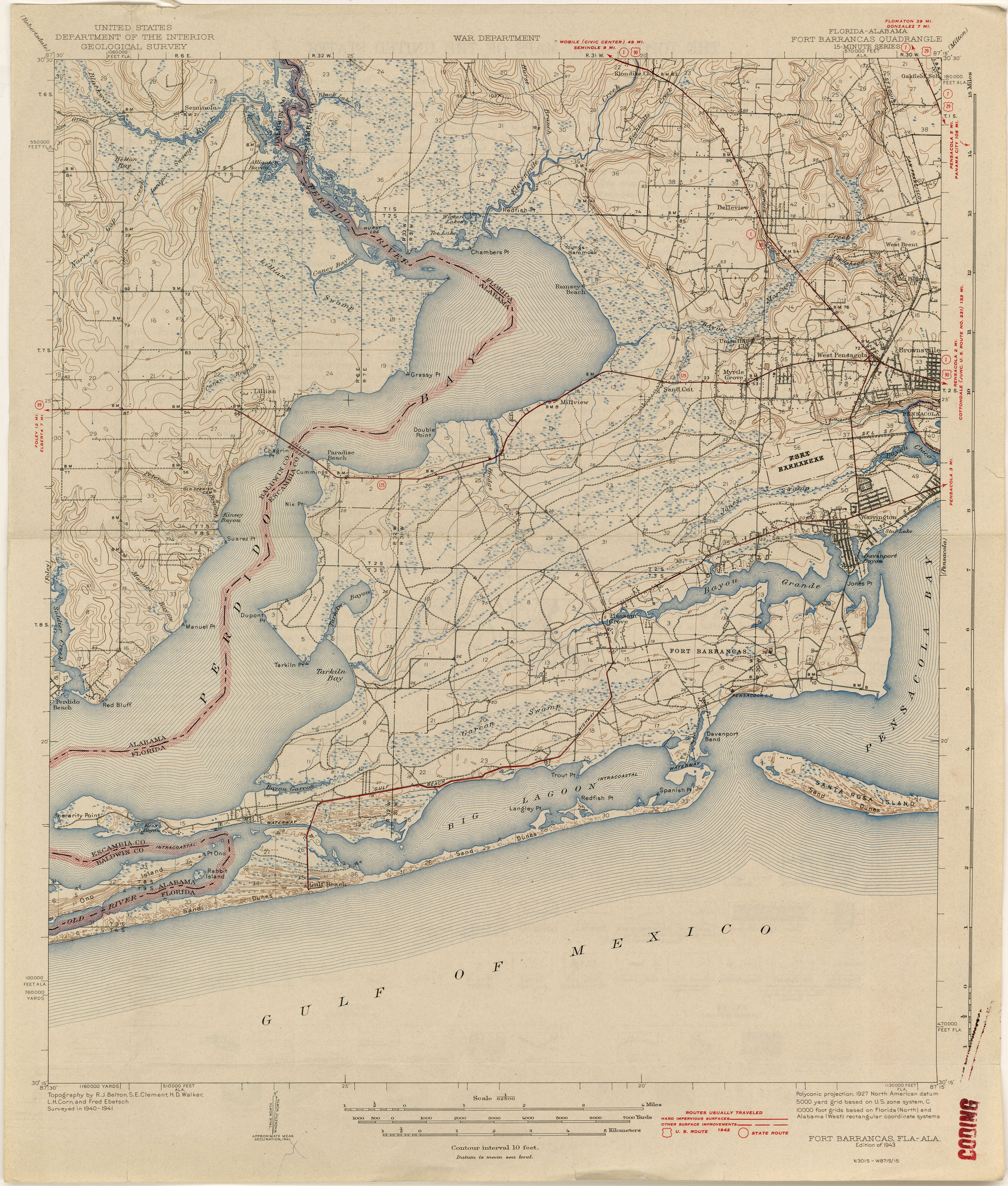 Florida Historical Topographic Maps - Perry-Castañeda Map Collection - Usgs Topographic Maps Florida