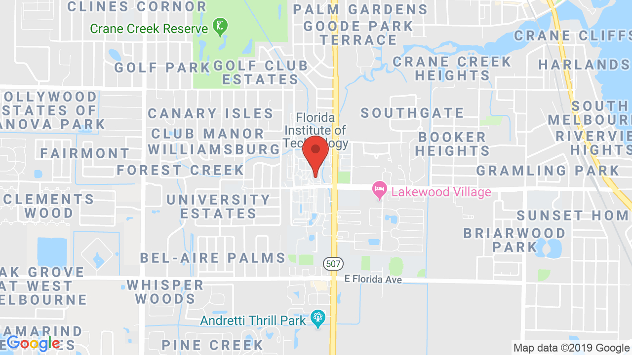 Florida Institute Of Technology - Shows, Tickets, Map, Directions - Florida Tech Map