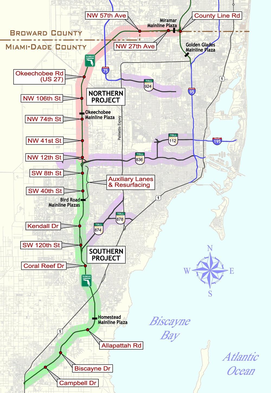 Florida Keys & Key West Travel Information - Florida Keys Highway Map