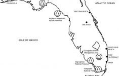 Florida Map Coloring Page | Free Printable Coloring Pages – Free Florida Map