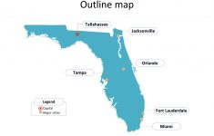 Florida Map Powerpoint Templates – Free Powerpoint Templates – Tallahassee On The Map Of Florida