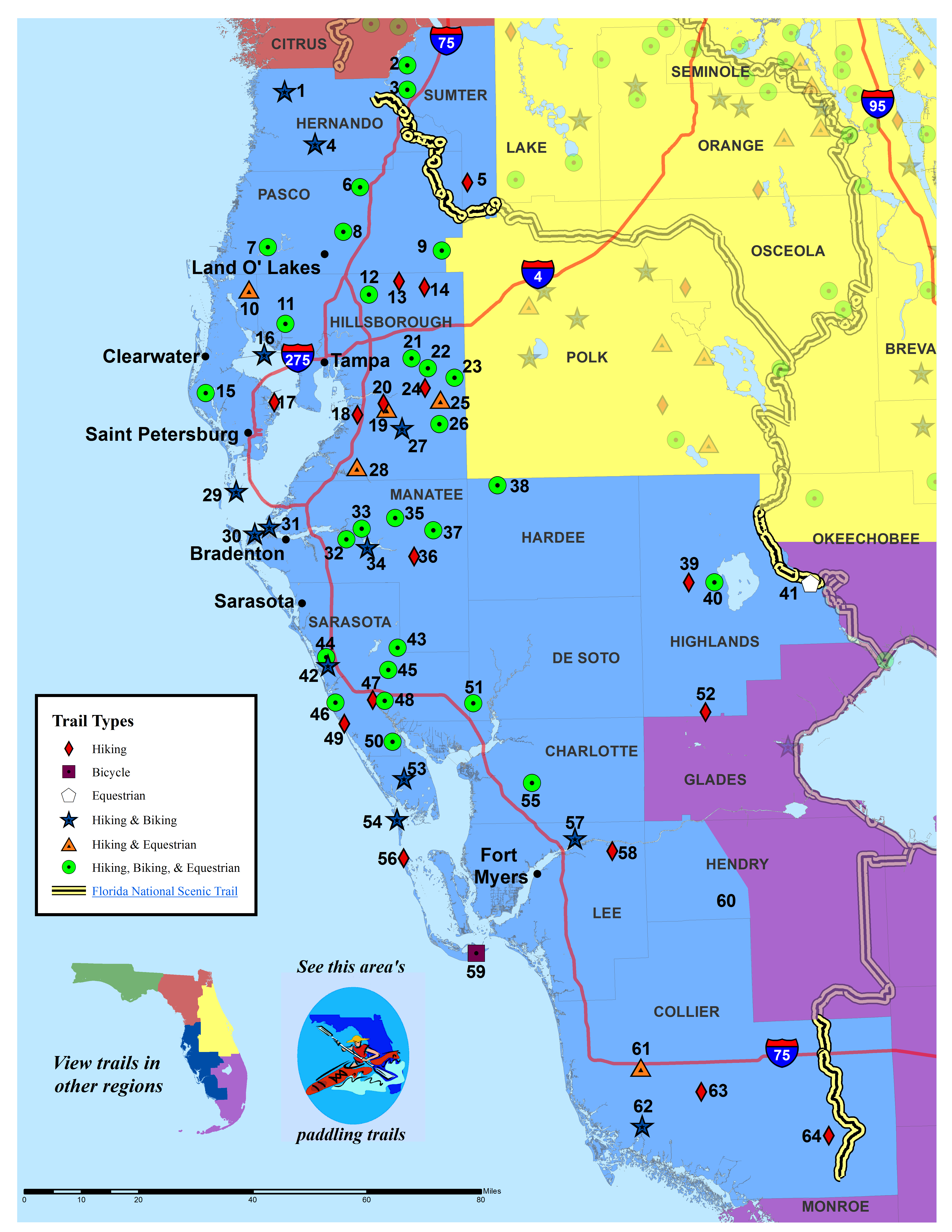 Florida Map Southwest | Verkuilenschaaij - Map Of Southwest Florida