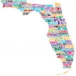 Florida Map | The Modern Southern Gentleman | Beach Decor   Belleview Florida Map