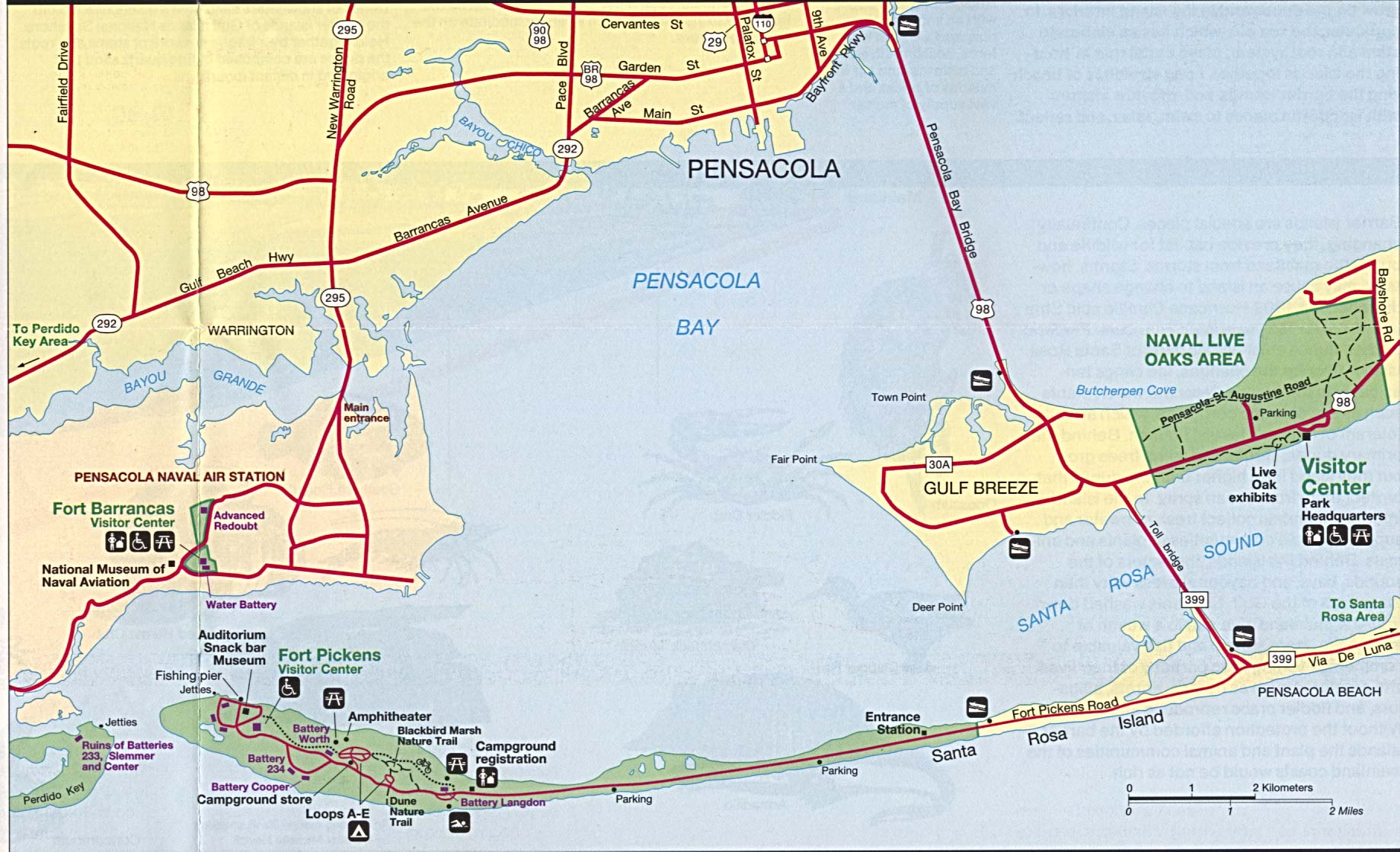Florida Maps - Perry-Castañeda Map Collection - Ut Library Online - Where Is Pensacola Florida On A Map