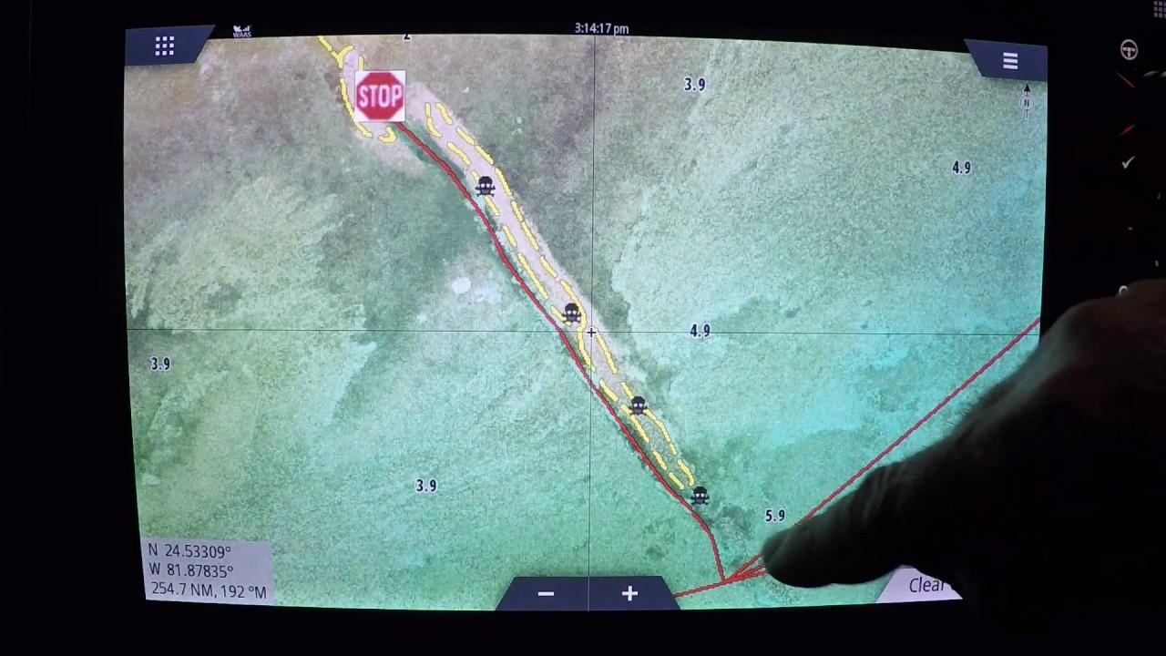 Florida Marine Tracks South Fl Update 12-2017 - Youtube - Florida Marine Maps
