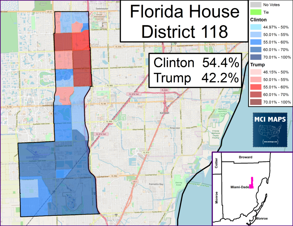 Florida – Mci Maps - Florida House District 64 Map