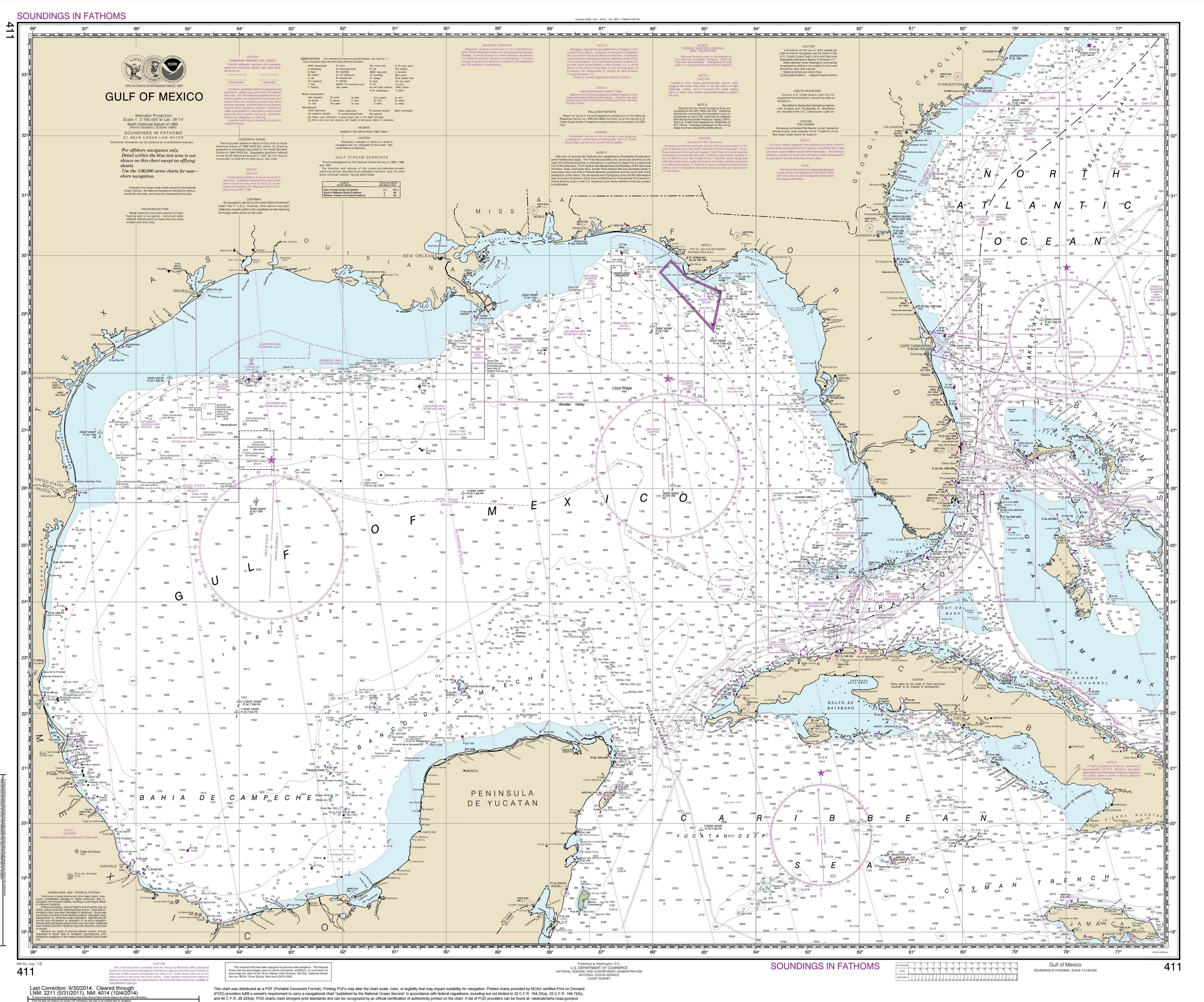 Florida Ocean Depth Chart – Easybusinessfinance - Water Depth Map Florida