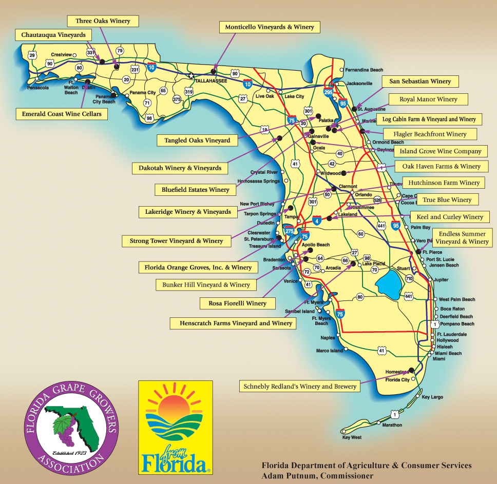 Florida Orange Groves Map – Bnhspine - Florida Orange Groves Map