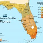 Florida Plant Hardiness Zone Map • Mapsof   Florida Zone Map
