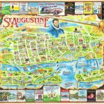 Florida St. Augustine Map Postcard | America's Oldest And Mo… | Flickr   St Augustine Florida Map Of Attractions