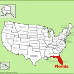 Florida State Maps | Usa | Maps Of Florida (Fl)   Where Is Fort Lauderdale Florida On The Map