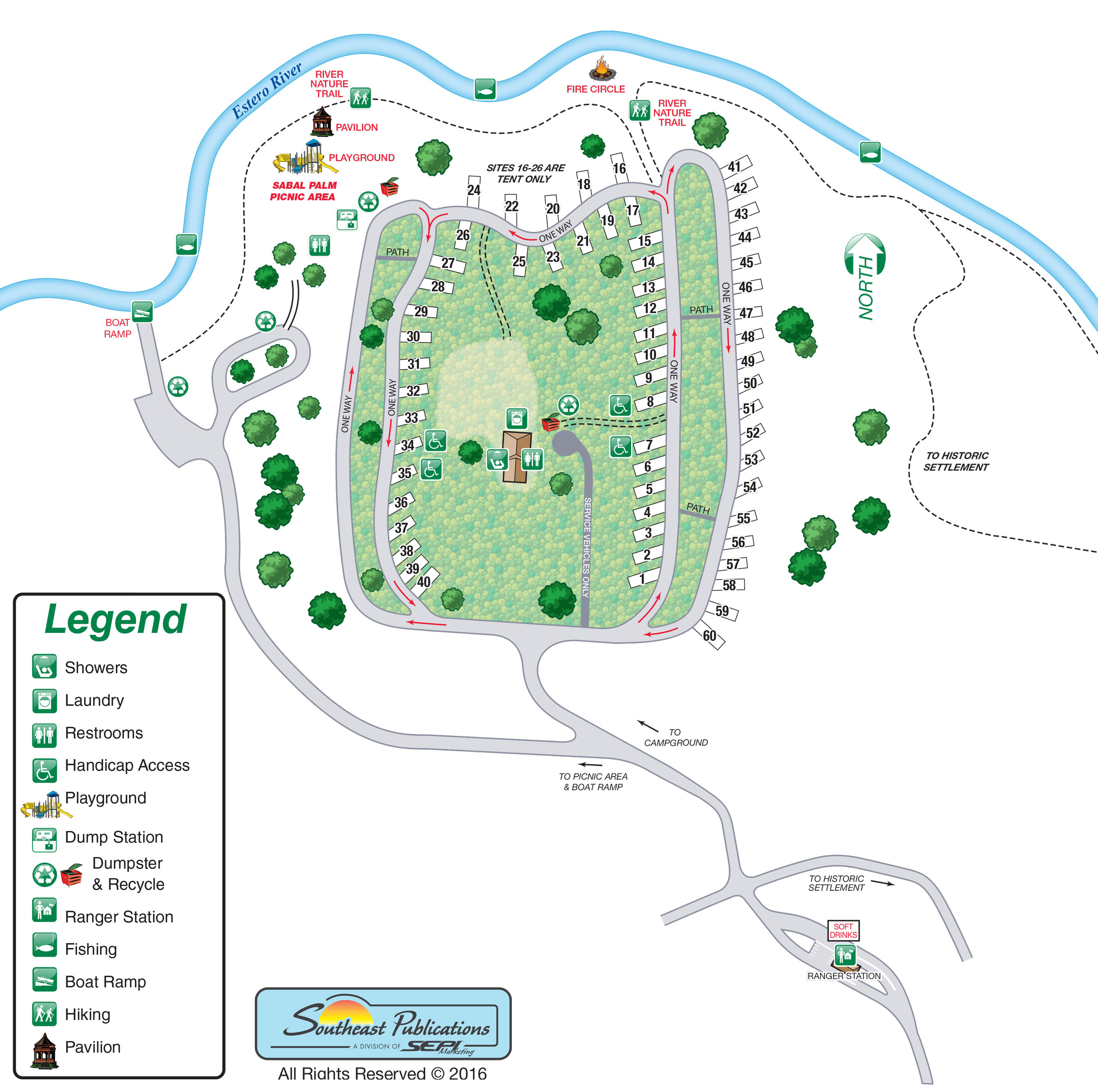 Florida State Parks Rv Camping - Know Your Campground - Camping In Florida State Parks Map