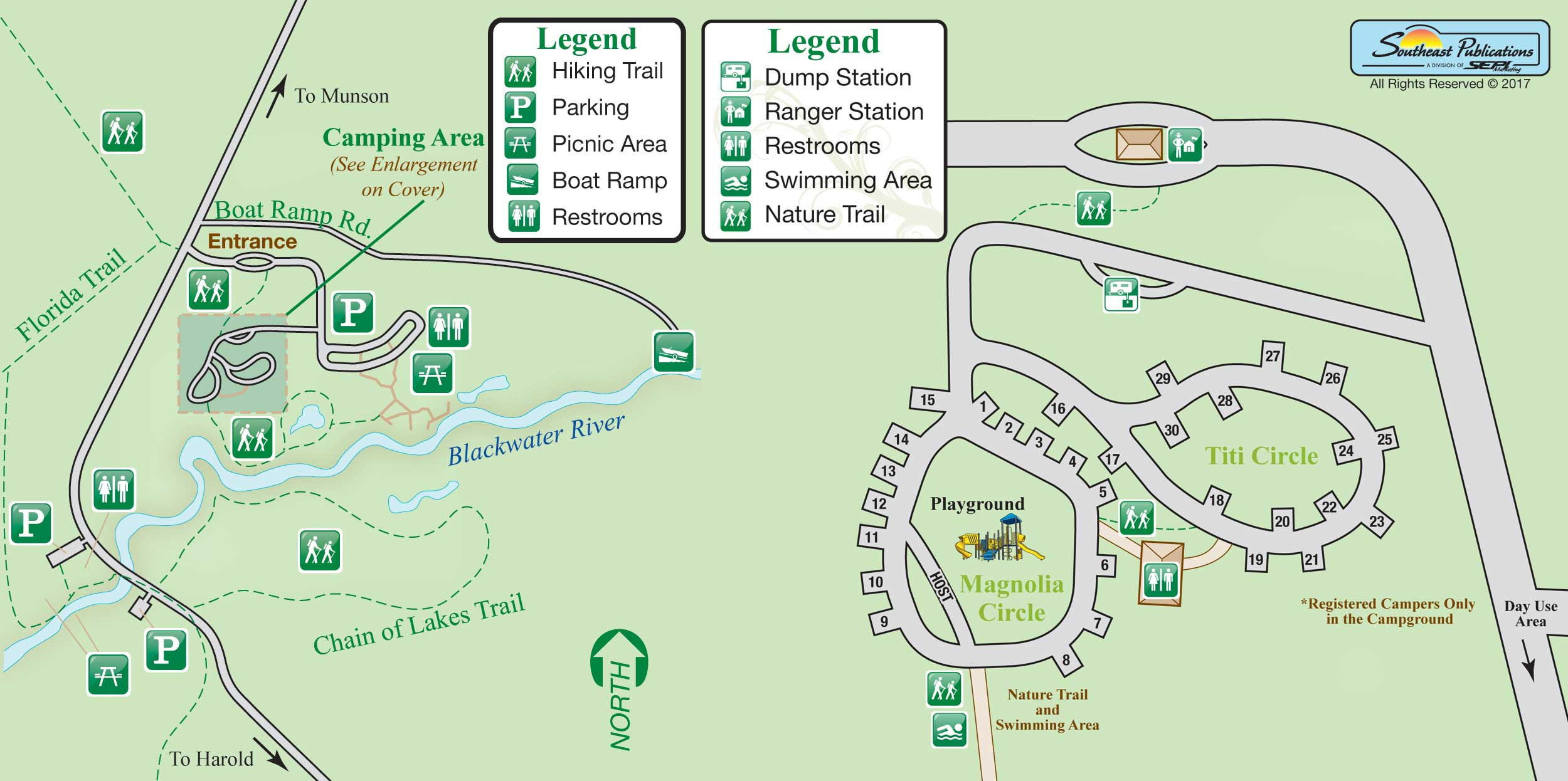 Florida State Parks Rv Camping - Know Your Campground - Florida Camping Map