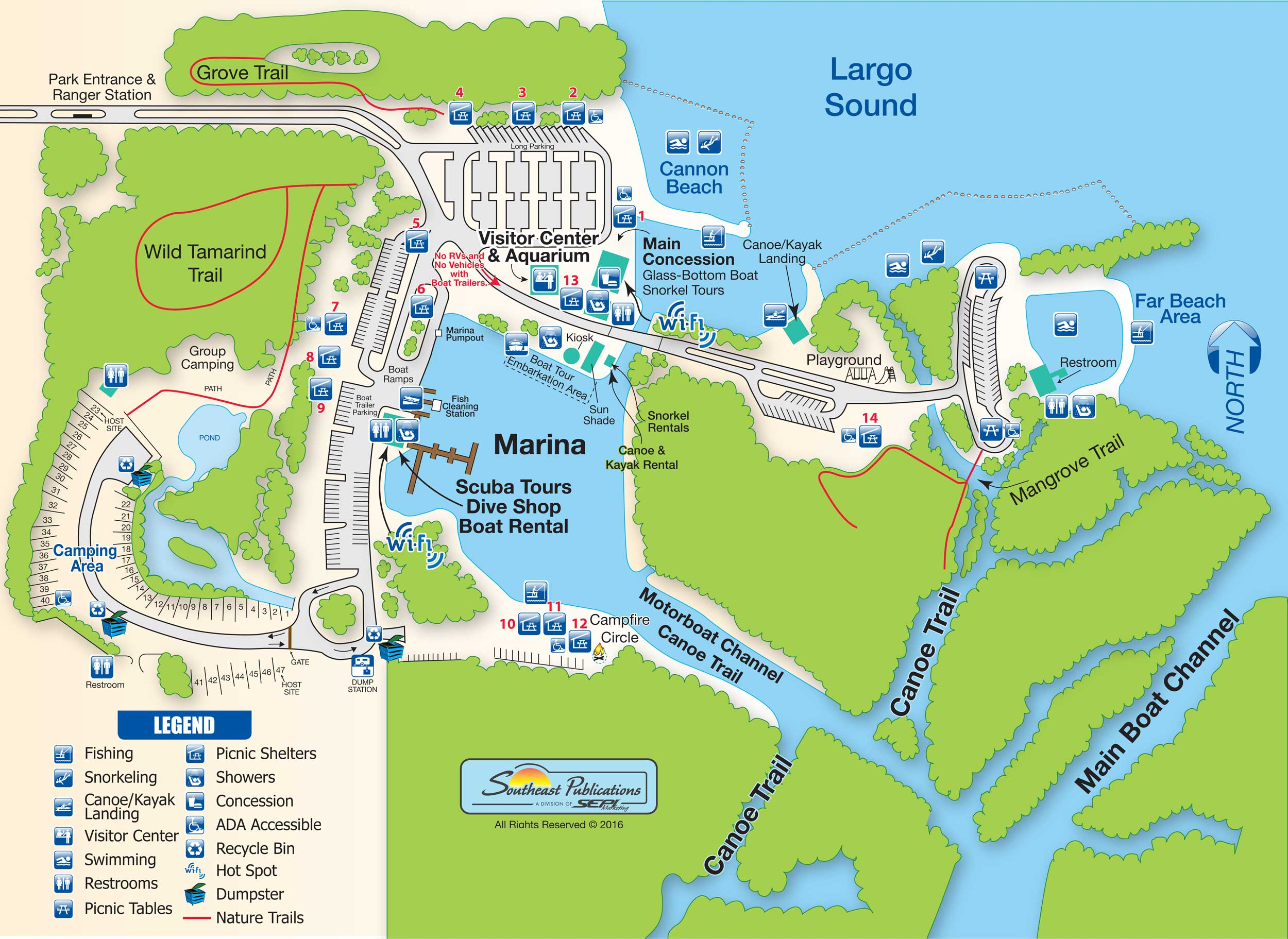 Florida State Parks Rv Camping - Know Your Campground - Florida State Park Campgrounds Map