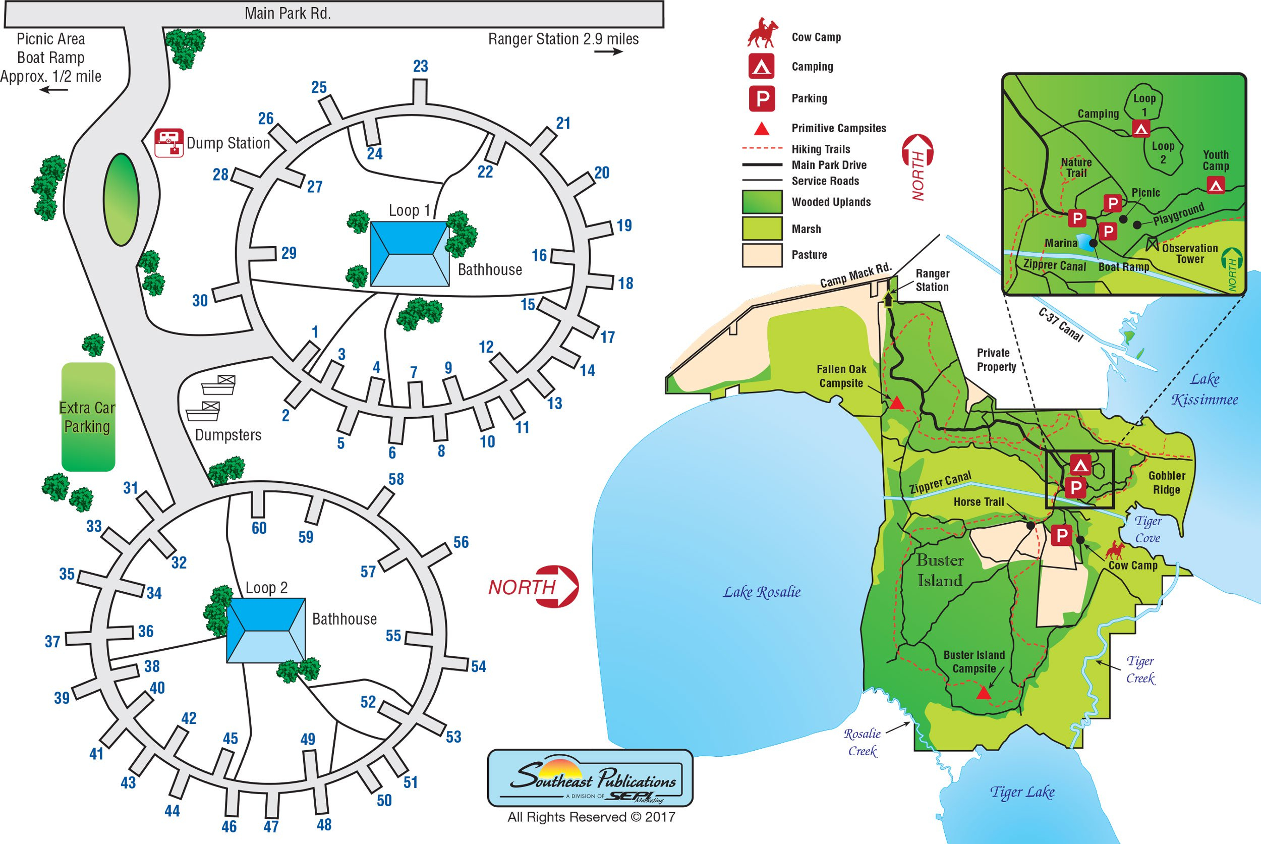 Florida State Parks Rv Camping - Know Your Campground - Florida State Parks Rv Camping Map