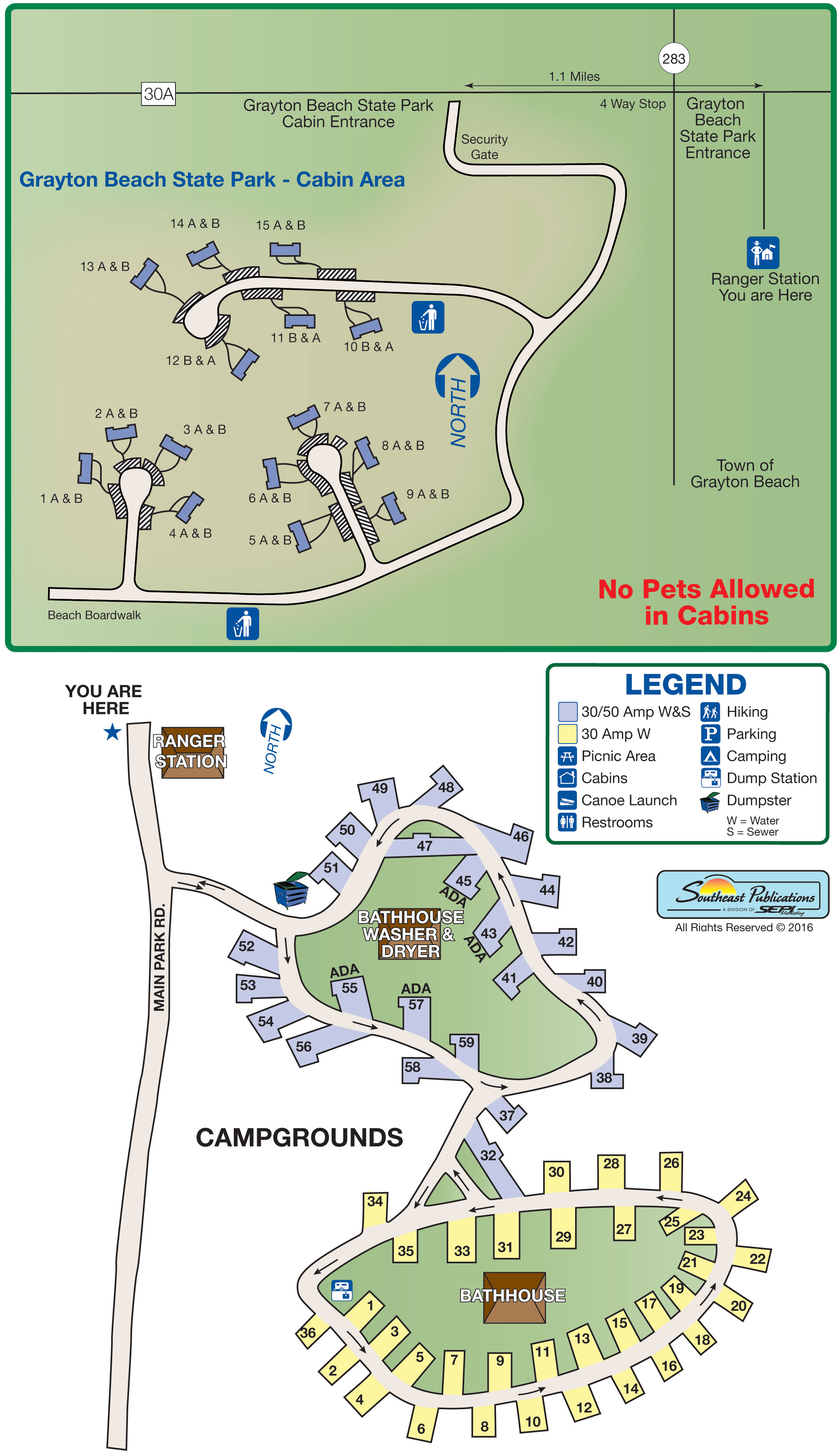 Florida State Parks Rv Camping - Know Your Campground - Florida State Rv Parks Map