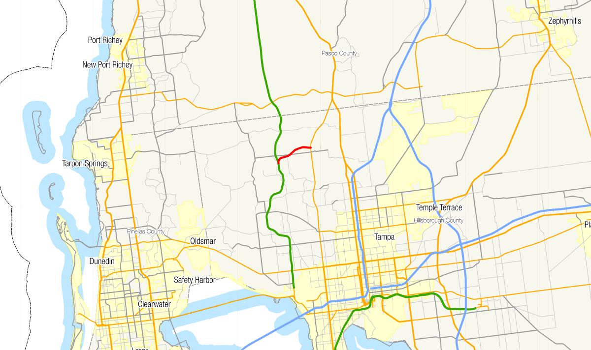 Florida State Road 568 - Wikipedia - Lutz Florida Map