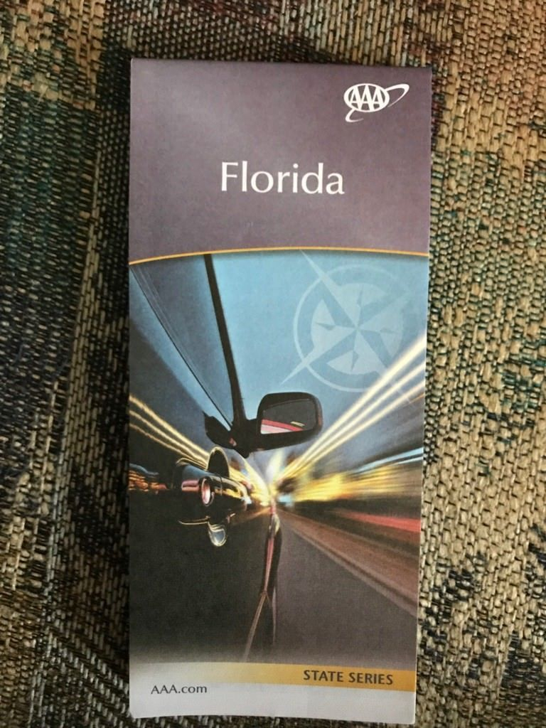 Florida State Series Highway Map Aaa And 50 Similar Items - Aaa Maps Florida