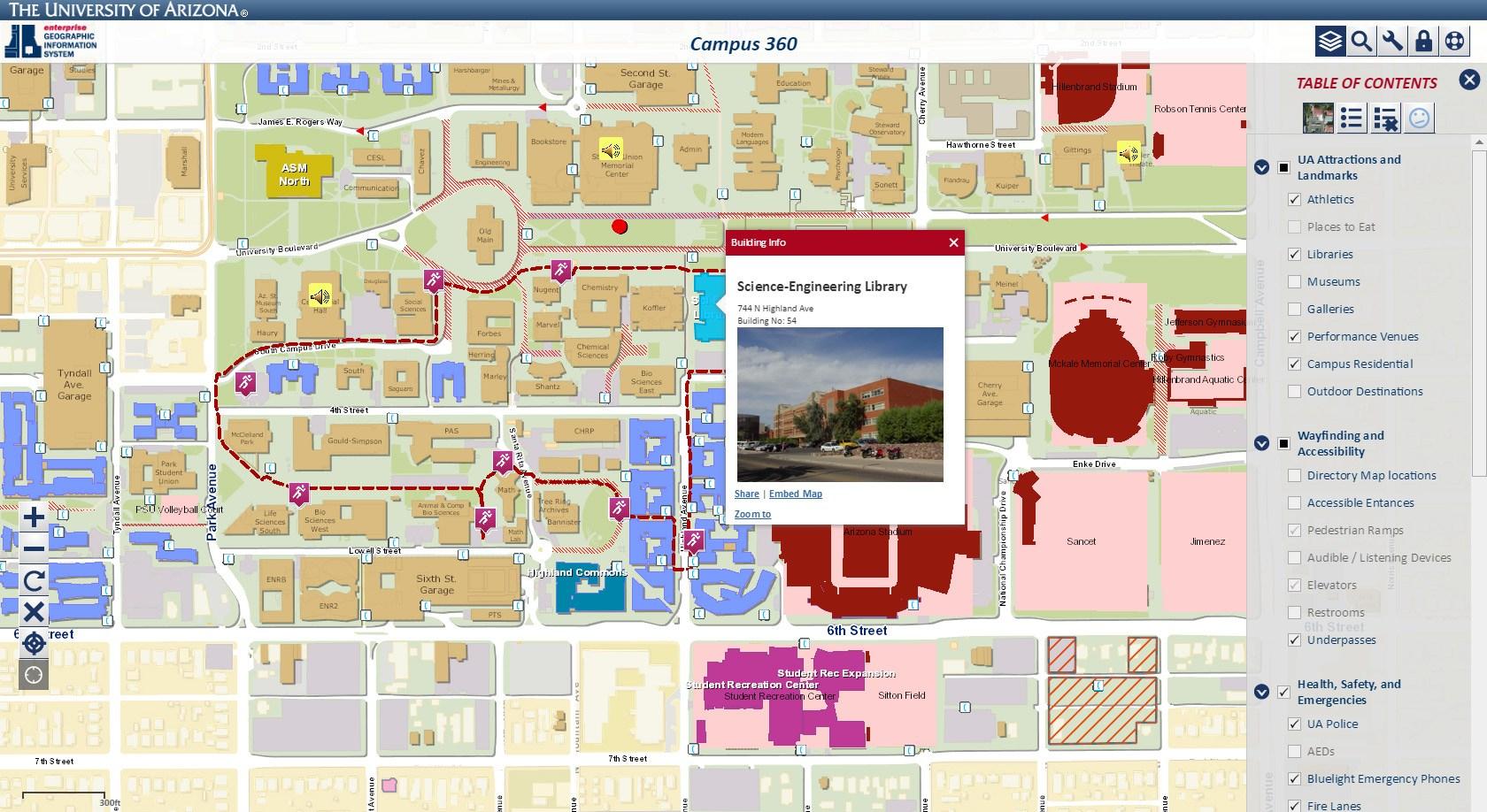 Florida State University Campus Map - Florida State University Map